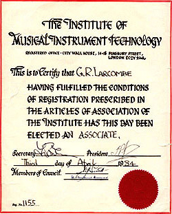 Institute of Musical Instrument Technology