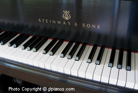 Pristine Pre-Owned Steinway Uprights and Grands