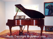 Steinway M Chippendale 1948